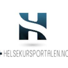 Skjermbilde helsekursportalen større logo
